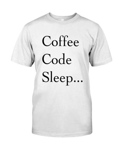 Coffee Code Sleep Loop Programmers's Life