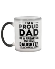 Proud Dad Of Daughter Changing Mug Color Changing Mug color-changing-left