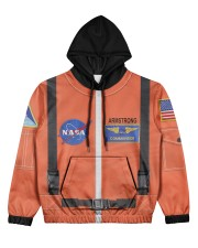 Aeromax Jr Astronaut Suit Women's All Over Print Hoodie thumbnail