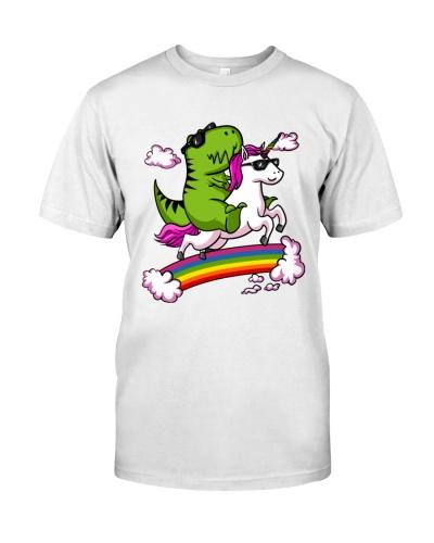 unicorn and t-rex