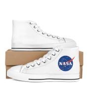 3D  Armstrong Spacesuit Men's High Top White Shoes thumbnail