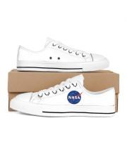 3D  Armstrong Spacesuit Men's Low Top White Shoes thumbnail