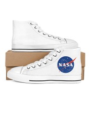 3D  Armstrong Spacesuit Women's High Top White Shoes thumbnail