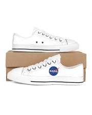 3D  Armstrong Spacesuit Women's Low Top White Shoes thumbnail