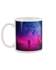 Man Walking music universe Mug back