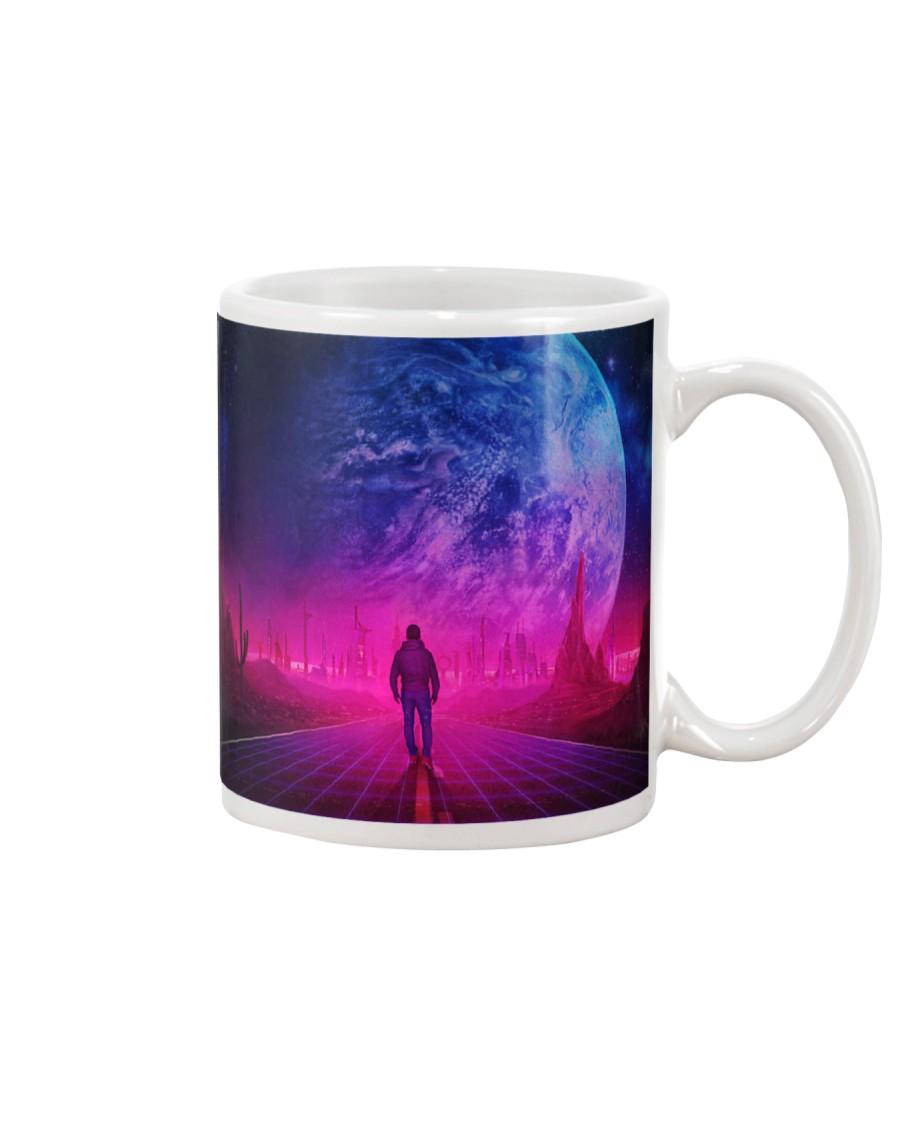 Man Walking music universe Mug