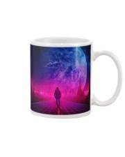 Man Walking music universe Mug front