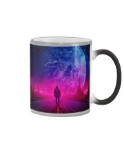 Man Walking music universe Color Changing Mug thumbnail