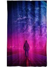 Man Walking music universe Window Curtain - Blackout thumbnail