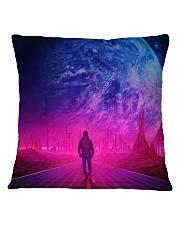 Man Walking music universe Square Pillowcase thumbnail