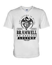 endless legend V-Neck T-Shirt thumbnail