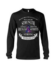 Do not pray for an easy life Rheumatoid Arthritis Long Sleeve Tee thumbnail