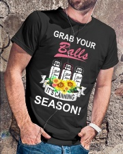 Grab your balls it's canning season Classic T-Shirt lifestyle-mens-crewneck-front-4