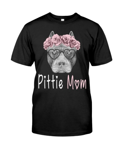 Pittie Mom Shirt