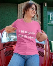 I Wear Pink for my Mom Shirt Ladies T-Shirt apparel-ladies-t-shirt-lifestyle-01
