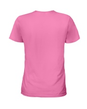 I Wear Pink for my Mom Shirt Ladies T-Shirt back