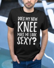 Does My New Knee Make Me Look Sexy  Classic T-Shirt apparel-classic-tshirt-lifestyle-front-45