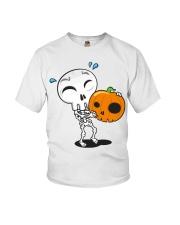 halloween pumpkin Youth T-Shirt thumbnail