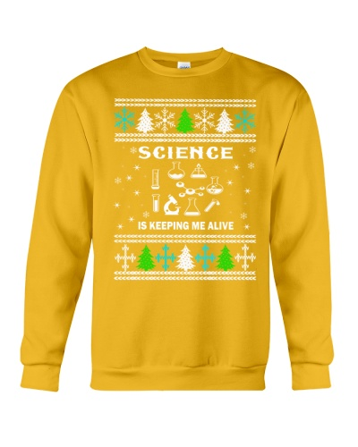 Science Funny Christmas Sweater