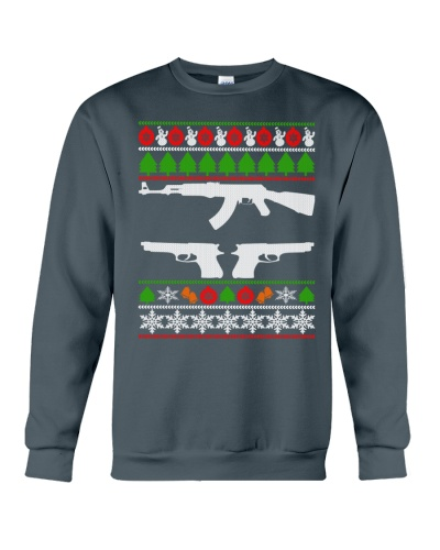 GUN LOVERS UGLY CHRISTMAS SWEATERS