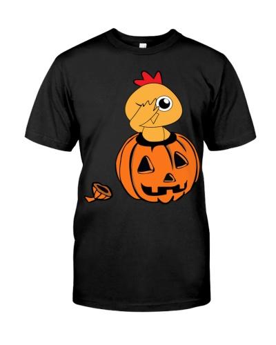 Halloween chicken Dabbing T-Shirt Funny Dab Tee