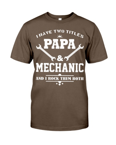 limited Edition - Papa and Mechanic