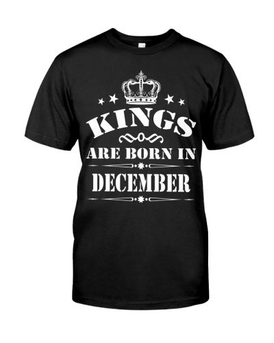 KING ARE BORN DECEMBER