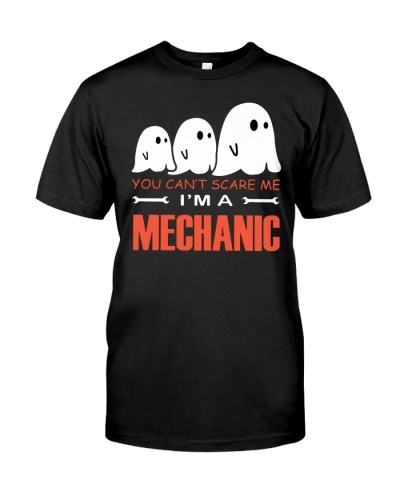Halloween Mechanic tee