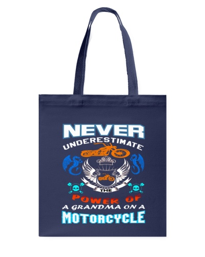 Limited Edition Grandma on Motorcycle