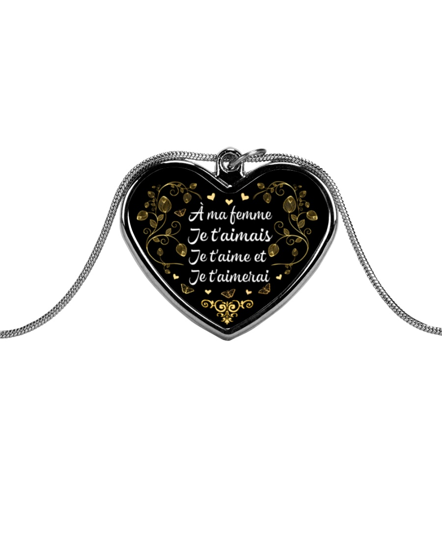 EDITION LIMITEE Metallic Heart Necklace
