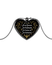 EDITION LIMITEE Metallic Heart Necklace thumbnail