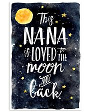 This nana is loved to the moon and back 11x17 Poster front