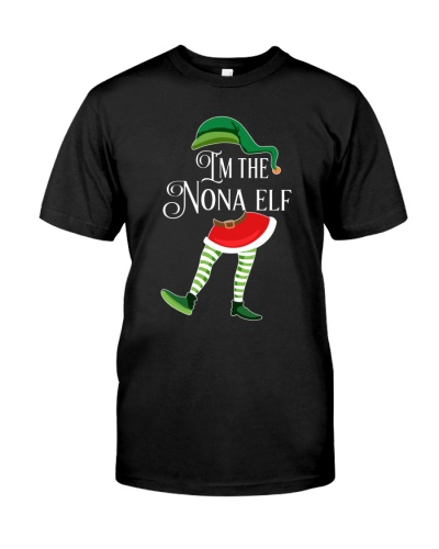 I'm the Nona Elf - Christmas