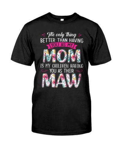 Mom and Maw