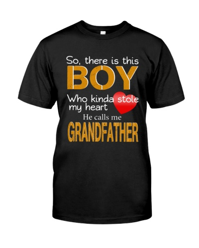 So there is this Boy who kinda GRANDFATHER
