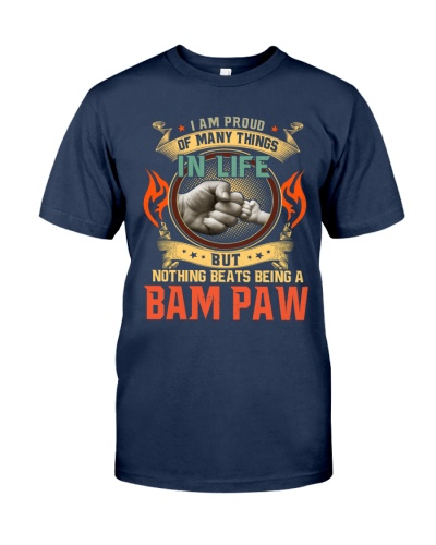 I am proud of many things in life bam paw