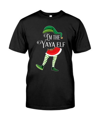 I'm the Yaya Elf - Christmas