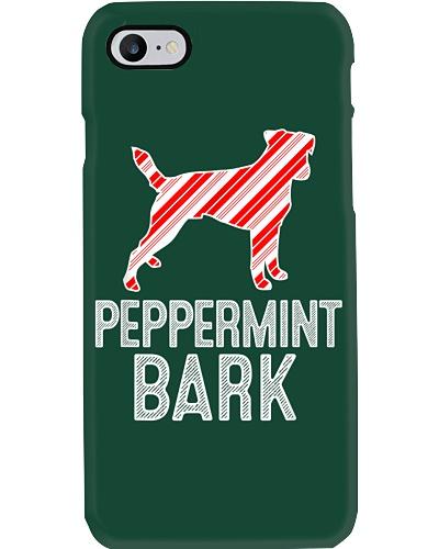 Jack Russell Peppermint Bark Christmas Dog T-Shirt