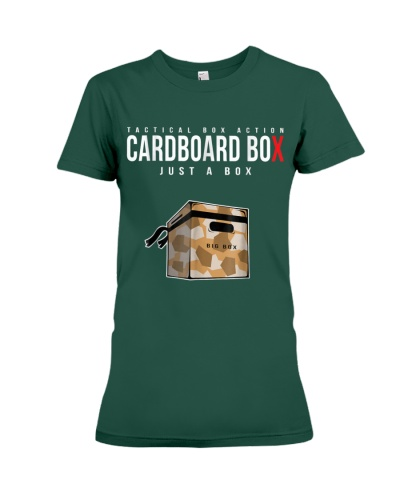 Cardboard Box Gear And Apparel For Video Games