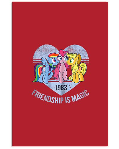 My Little Pony Group Friendship Is Magic T-Shirt