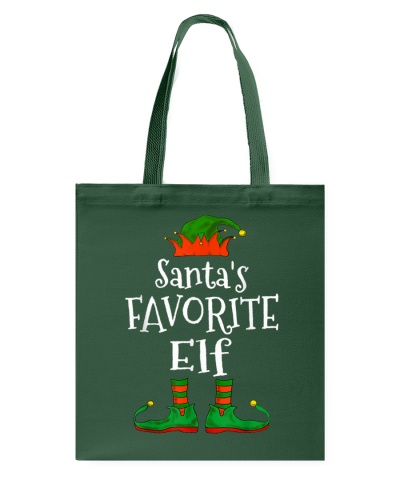 Santa S Favorite Elf Family Matching Funny Christm