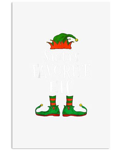 Santa S Favorite Elf Family Matching Funny Christm