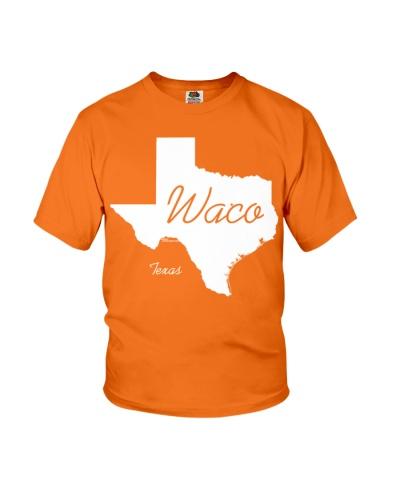Waco Texas State Shirt  White TShirts