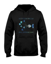 And Let Me See What Spring D0853 Hooded Sweatshirt front