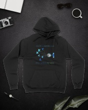And Let Me See What Spring D0853 Hooded Sweatshirt lifestyle-unisex-hoodie-front-9