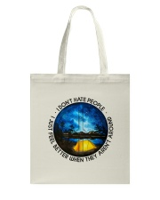 I Don't Hate People Tote Bag thumbnail