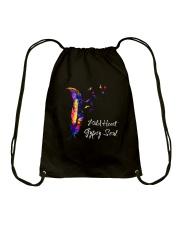 Wild Heart Gypsy Soul D01014 Drawstring Bag thumbnail
