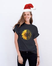 You Are My Sunshine D01188 Classic T-Shirt lifestyle-holiday-crewneck-front-1