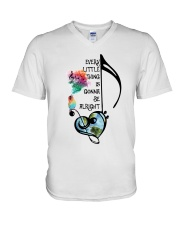 Every Little Thing Is Gonna Be Alright A0016 V-Neck T-Shirt thumbnail