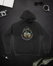 In A World Where You Can Be A0025 Hooded Sweatshirt lifestyle-unisex-hoodie-front-9